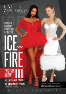 Flyer du défilé Ice & Fire