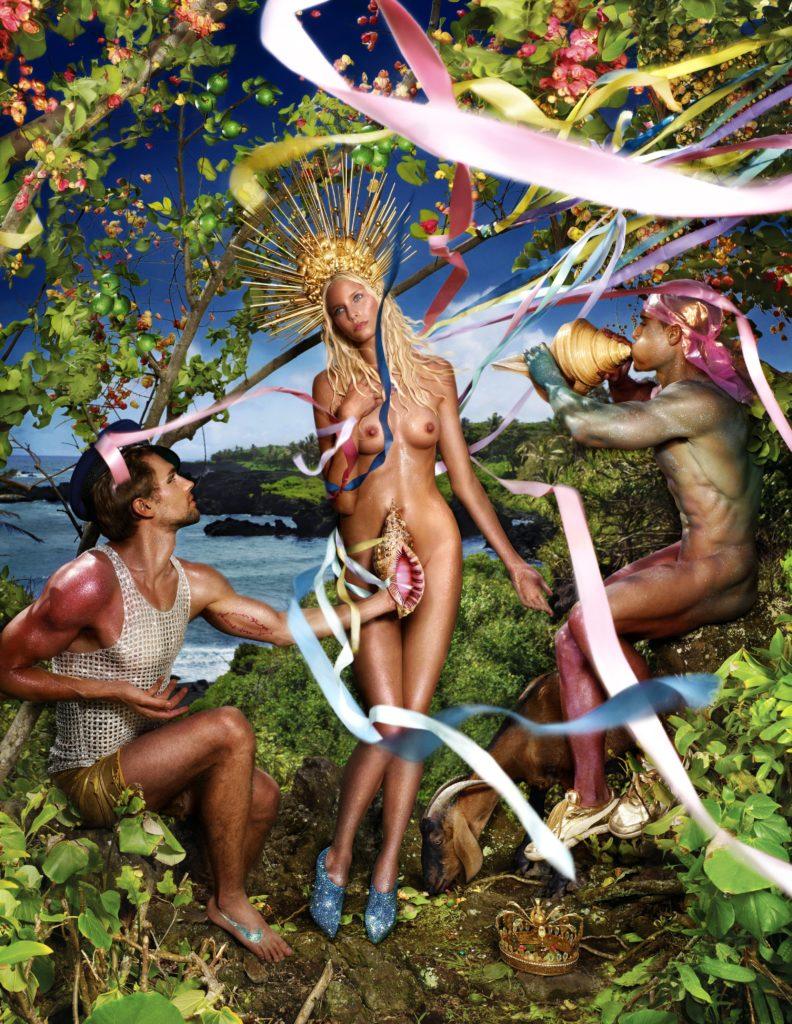 Rebirth of Venus, 2009 Chromogenic print ©David LaChapelle Courtesy Galerie Des Bains