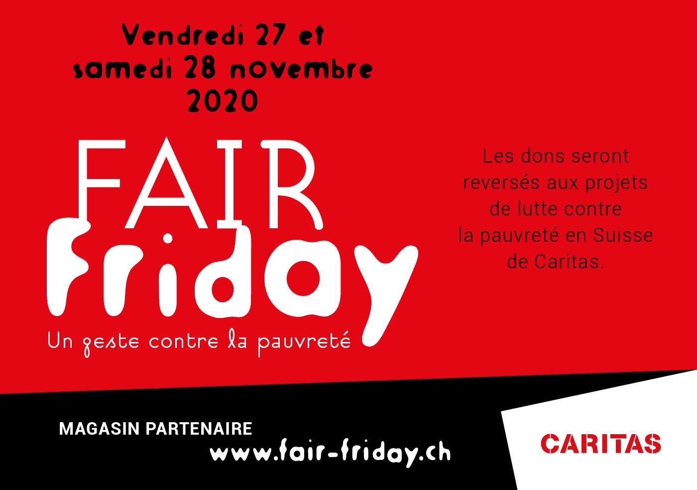 Fair Friday avec Caritas